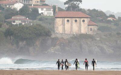 Clase de surf  y excursión por la ría