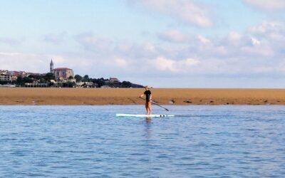 Paddle surf en altamar